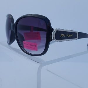Betsey Johnson Rhinestone Sunglasses